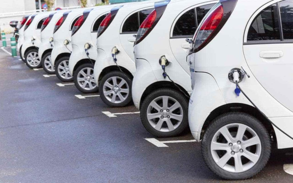 charging for fleet of electric vehicles